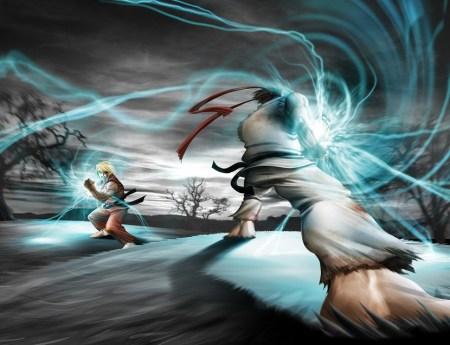 Ryu__s_hadouken_vs_ken__s_by_MrLestat450