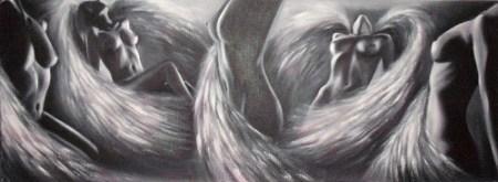 Ela-Nowak-Erotic-motifs-Female-nudes-Fantasy-Contemporary-Art-Post-Surrealism