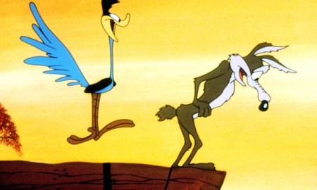Wile E Coyote and Road Runner