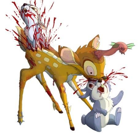 zombi_bambi_vs_rabbits_by_masacrar