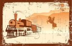 9197184-cowboy-and-locomotive-western-bandit-life-grunge