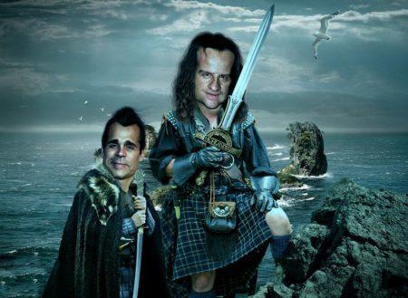 Adrian-Paul-and-Christopher-Lambert-Scottish-Highlanders--95355