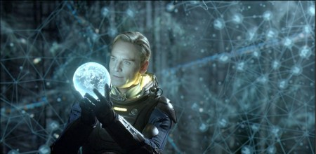 PROM-008 - Aboard an alien vessel, David (Michael Fassbender) makes a discovery that could have world-changing consequences.