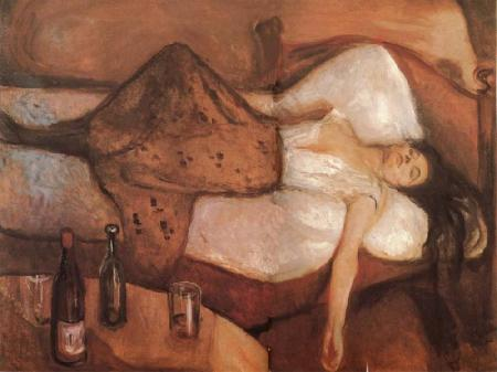 Edvard Munch After The Day