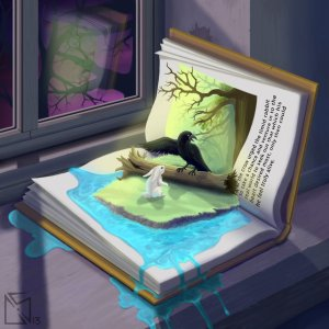 storybook_escape_by_zombiebyte-d60dsyd