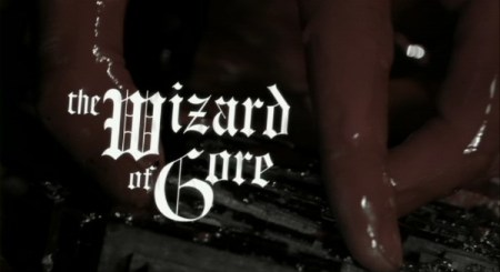 title wizard of gore