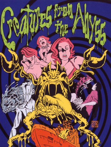 creatures from the abyss dvd