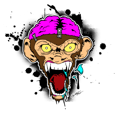 evil_screaming_monkey_brain_by_luvataciousskull-d1i0c3v