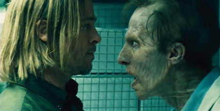 world-war-z-2013-movie-brad-pitt-zombie-face-to-face-review-ending-laboratory