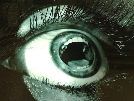 Screaming-Eye-Optical-Illusion