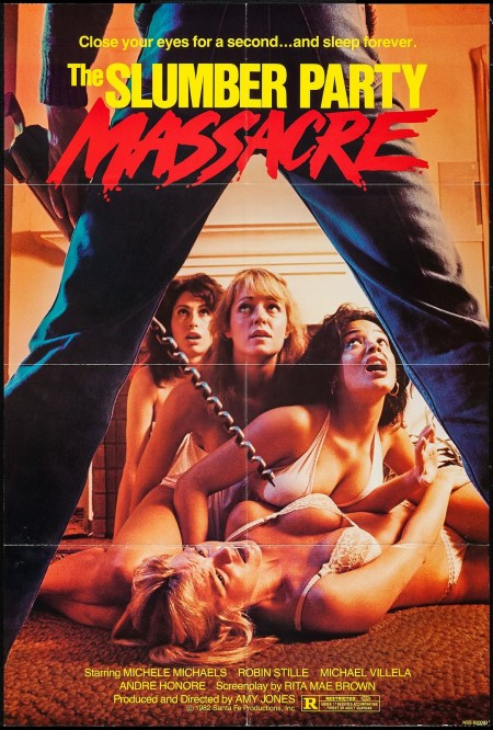 THE SLUMBER PARTY MASSACRE - American Poster
