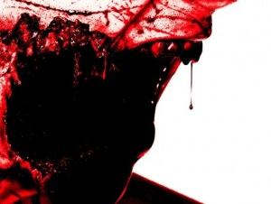 1280x800 zombie face missing jaw bloody horror wallpaper