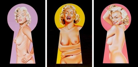 mel-ramos-peek-a-boo-marilyn-3-works-prints-and-multiples-lithograph
