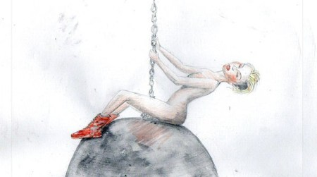 miley_cyrus_wrecking_ball_watercolor_by_lucas_arruda-d6v7bgk