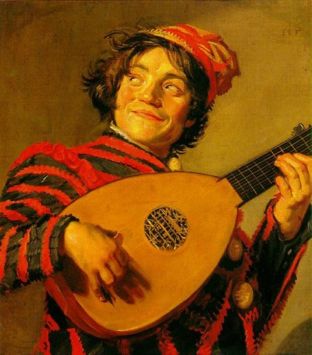 the-Art-Curator-for-Kids-Wordless-Wednesday-Art-History-for-Kids-Frans-Hals-Jester-with-a-Lute