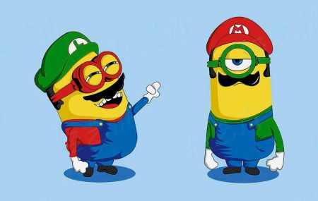 light-art-anime-game-minions-super-mario