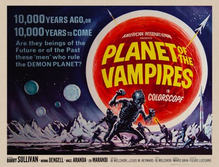 626-planet of vampires poster