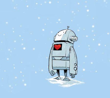 robot-love-snow-prints