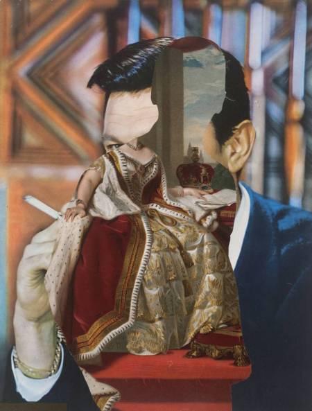 Third Person 1988-9 by John Stezaker born 1949