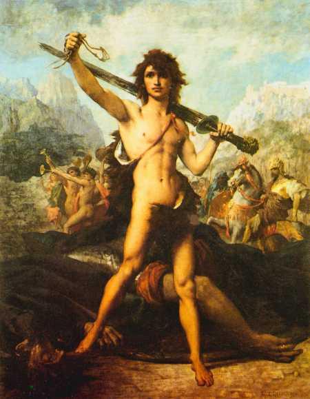 073[amolenuvolette.it]1848-1891 delaunay jules elie david et goliath