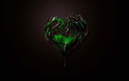 green-heart-abstract