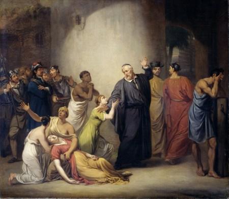 jan-willem-pieneman_de-zelfopoffering-van-predikant-hambroeck-op-formosa-1662-1810