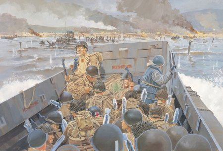 art-men-1944-beach-art-shelf-ww2-d-day-omaha-infantry-omaha-may-invasion-allied-force-through-of-the-channel-served-opening-second-front-to-landing