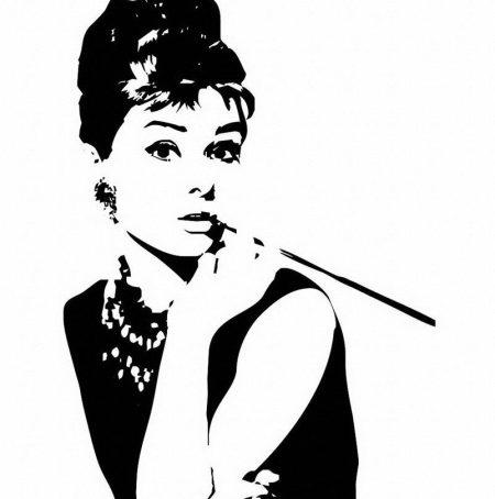 abstract-audrey-hepburn-black-white-modern-minimalist-frame-canvas-painting-pop-movie-celebrity-portrait-vintage-poster