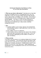 Data Interpretation guideline and worksheets v2014