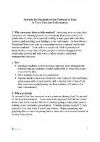 Data Interpretation guideline and worksheets v2014