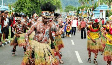 Tari tradisional pesisir Papua