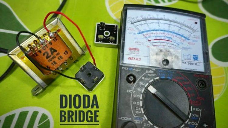 Gambar tuntunan mengukur dioda