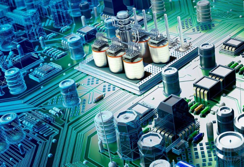 Gambar pengerian elektronika
