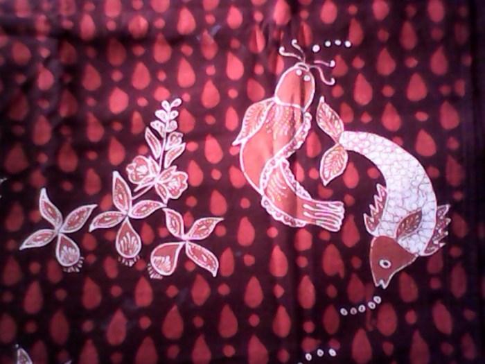 Gambar motif batik Lamongan