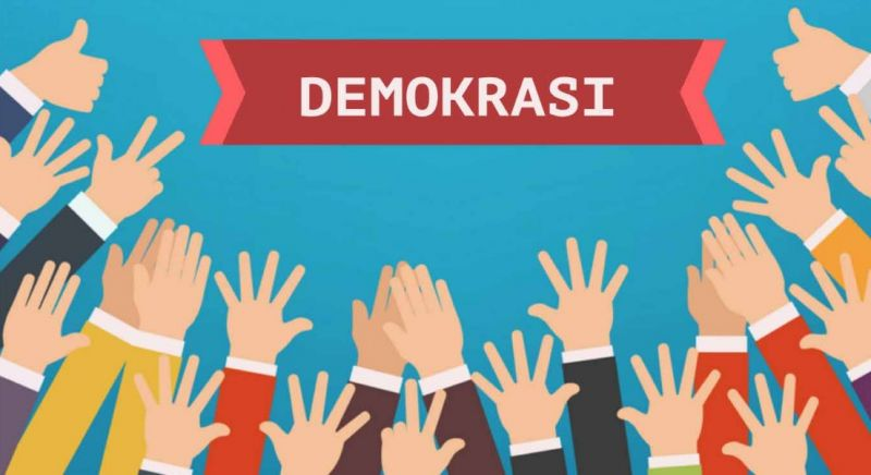 Gambar contoh makalah demokrasi