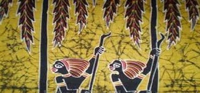 Gambar motif kamoro