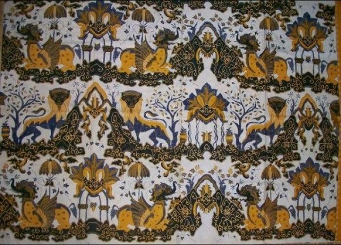 Gambar batik singo barong
