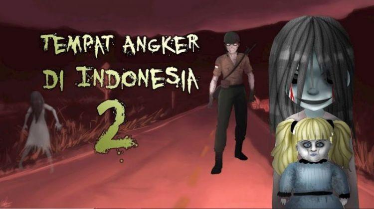 Ilustrasi gambar cerita hantu di Jakarta