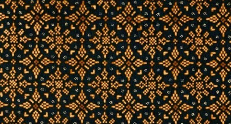 Gambar batik motif nitik