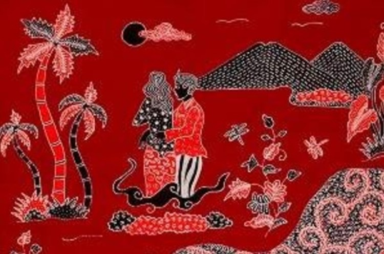 Gambar motif salakanegara
