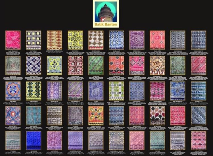 Gambar kumpulan batik Banten