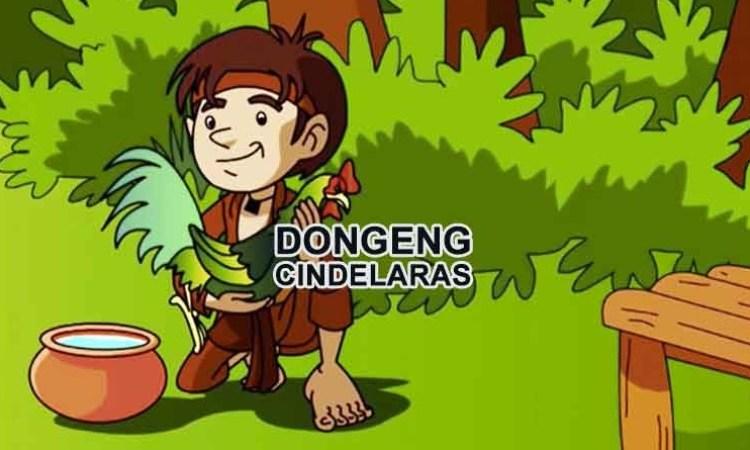 Ilustrasi tokoh utama Cindelaras