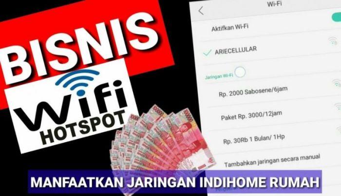 Contoh gambar ide bisnis hostpot wifi