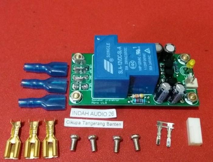 Gambar fungsi relay pada speaker protector