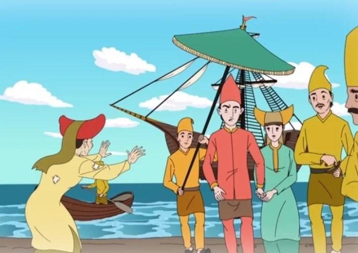 Gambar dongen Malin Kundang