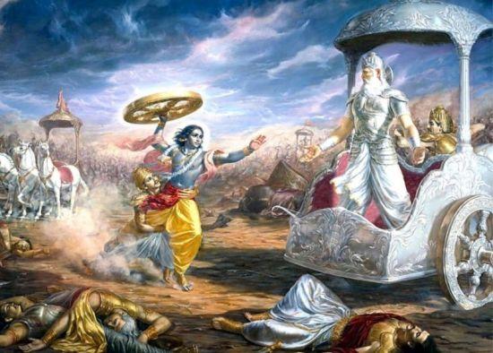 Ilustrasi gambar cerita Mahabarata