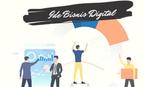 Ilustrasi gambar bisnis online tanpa modal