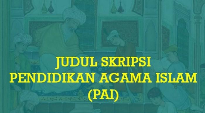 Gambar contoh judul skripsi
