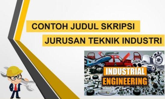 Gambar judul skripsi teknik Industri S1