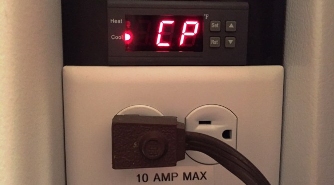 pid controller cp display